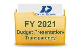 FY 2021 Budget Presentation Transparency