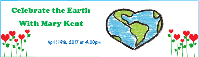 Earth Day Mary Kent Banner 2017