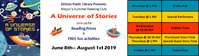 Mayors Summer Reading 2019