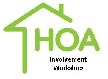 HOA Involvement workshop logo