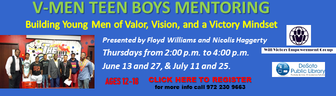 Teen Boys Mentoring Workshop 2019