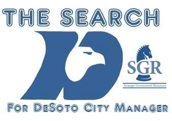 City Manager Search Logo Blue