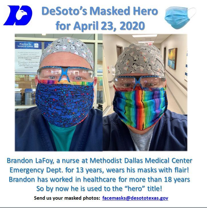04232020 Masked Hero Brandon LaFoy