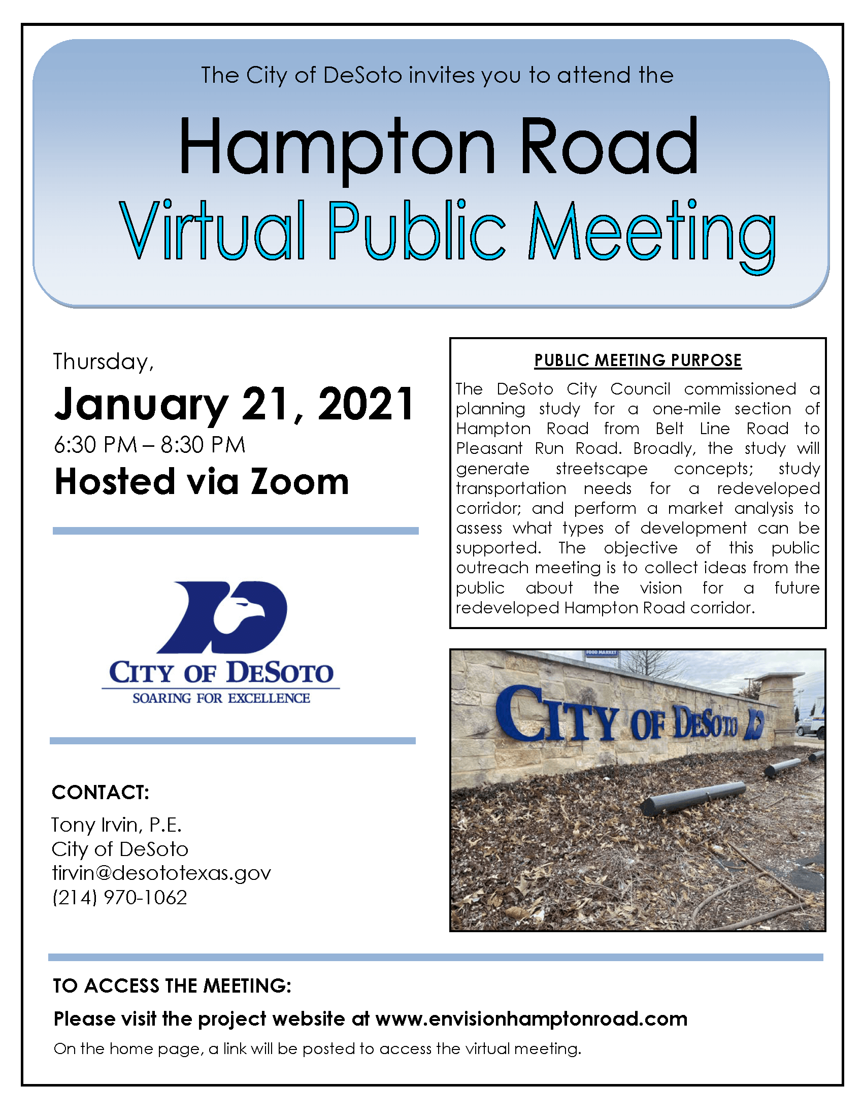 Hampton Public Mtg Flyer
