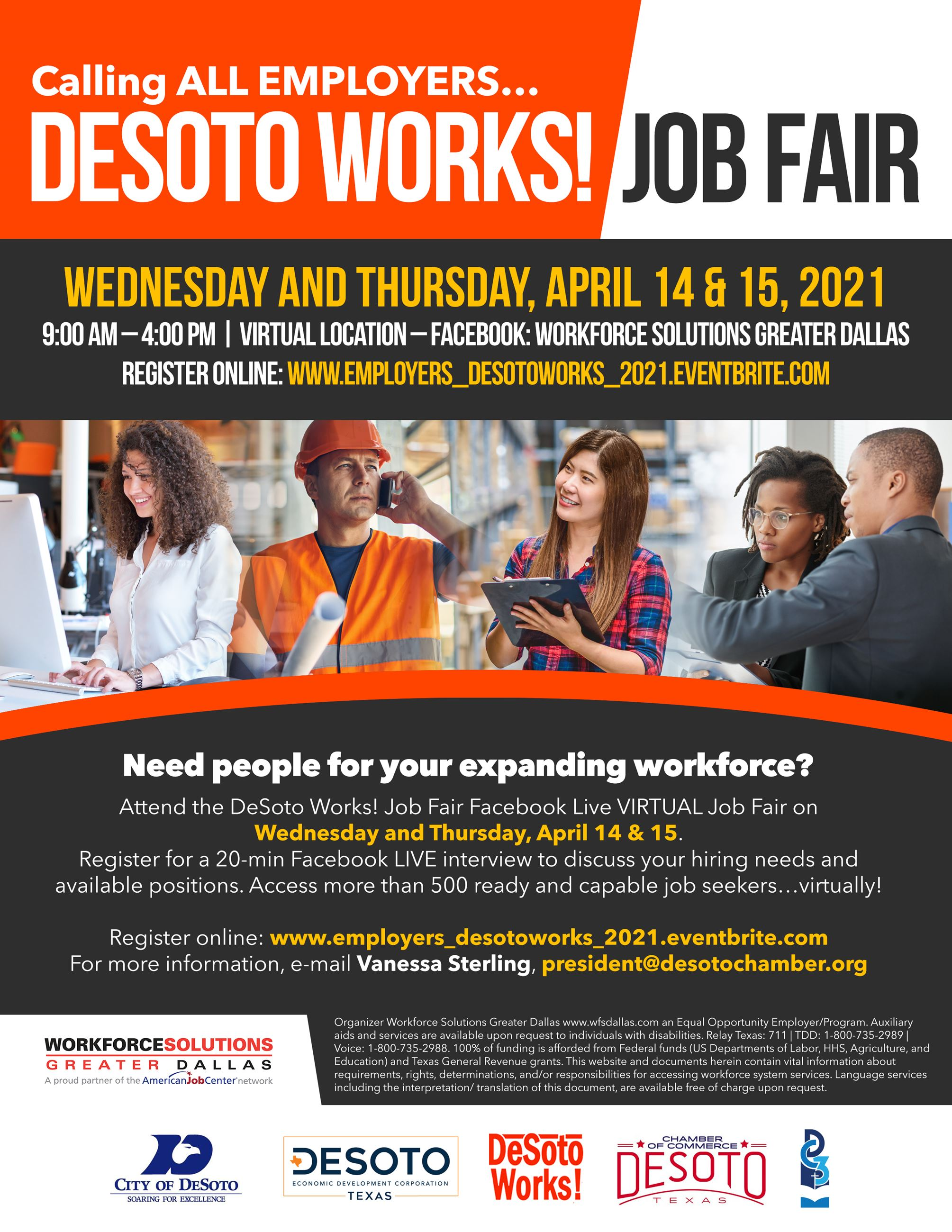 DeSoto Works Employer