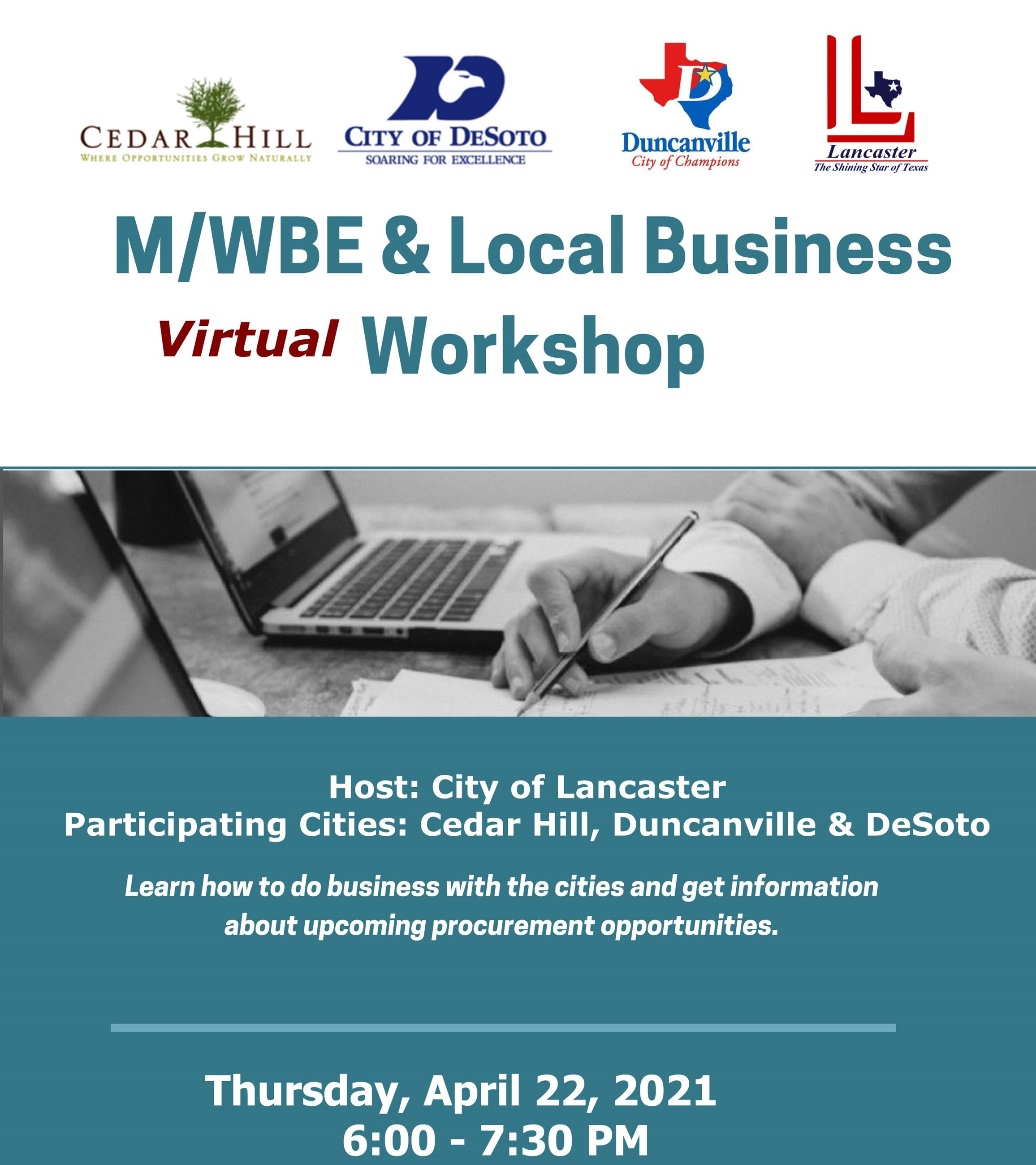 April 2021 MWBE Workshop Flyer_Draft no registration link