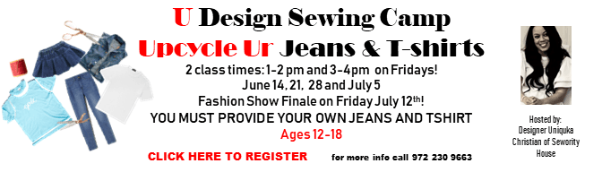U Design Sewing Camp 2019--Click here to register!