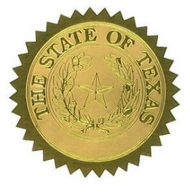Texas Gold Seal