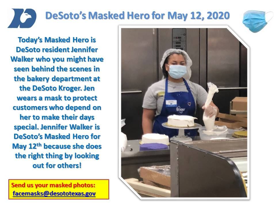 Masked  Hero May 12 Jen Walker