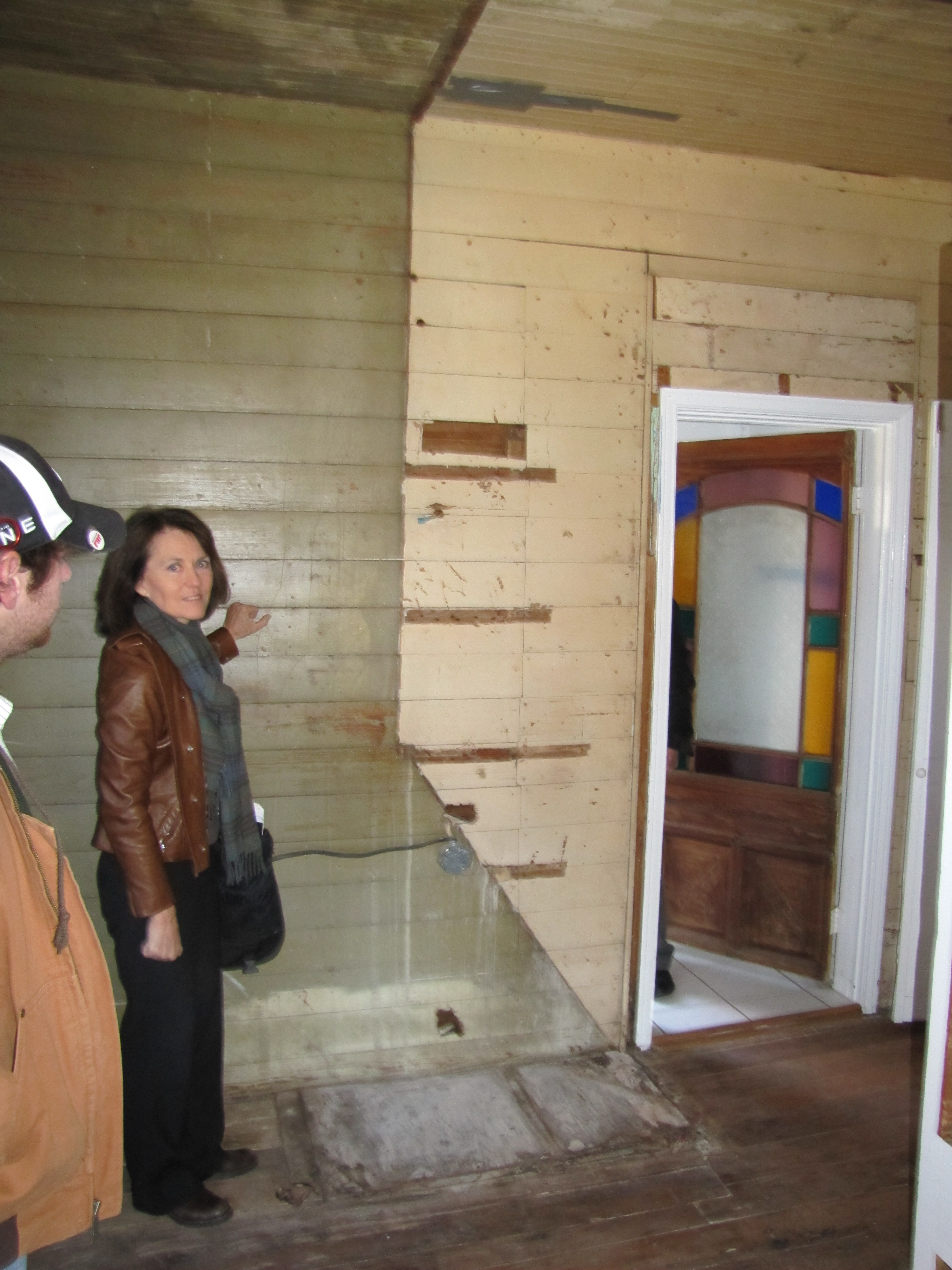 Ann Abernathy (Historical Architect) Viewing North