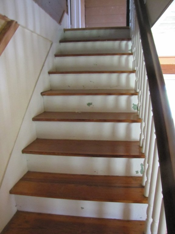 Banister and Step Restoration