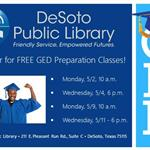 GED Preparation Classes Dates