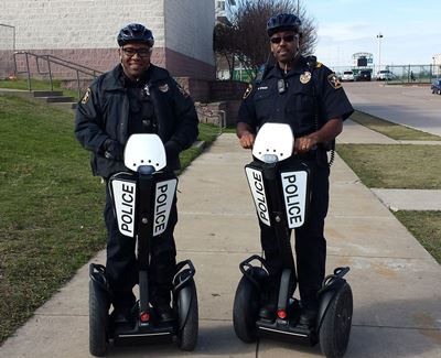 SROs on Segways