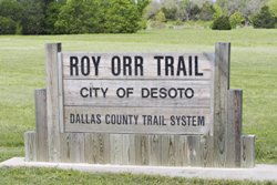 Roy Orr Trail Sign