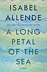 A Long Petal of the Sea Isabel Allende book cover image