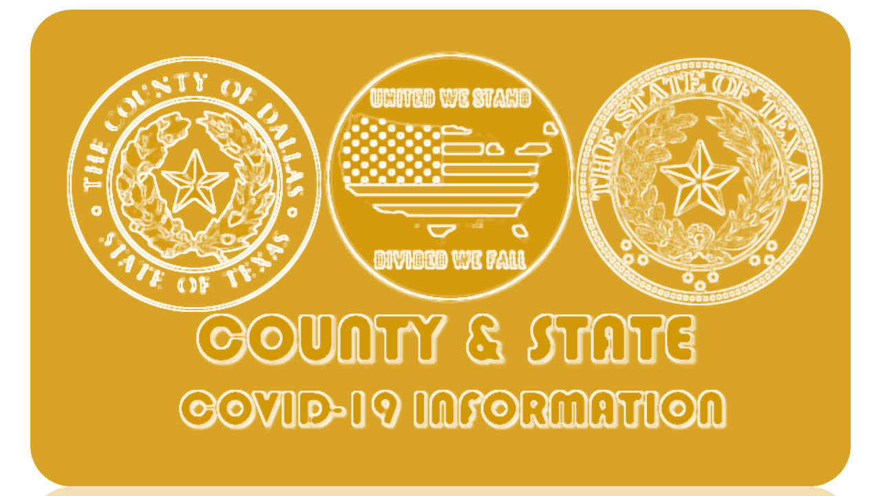 County State United Goldenrod Reversed