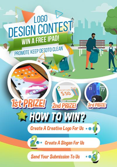 Logo-Contest-Flyer_Keep-DeSoto-Clean_NF