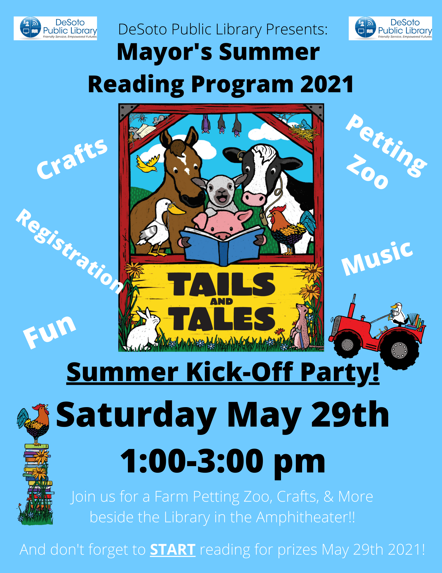 2021 Mayor's Reading Club Launch Event