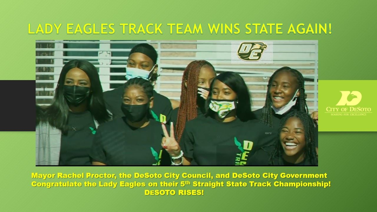 LADY EAGLES TRACK TEAM WINS STATE AGAIN!